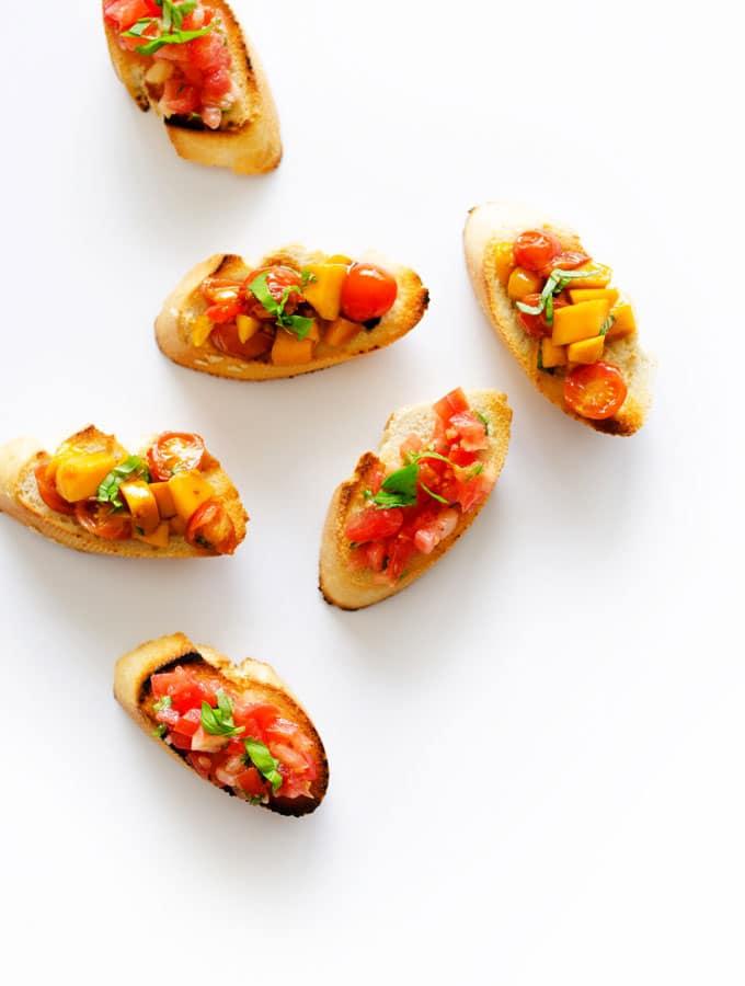 Tomato Bruschetta (2 Ways!)
