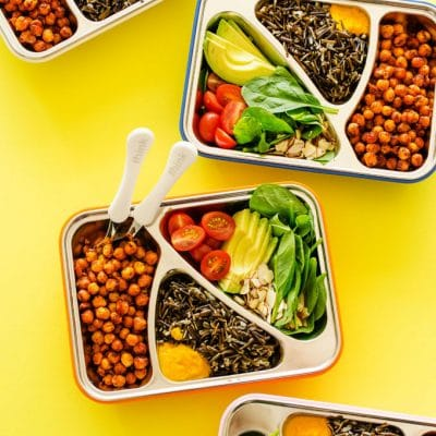 Looking for a vegetarian meal prep recipe that's high in protein and so tasty that you're actually excited for lunch time? I've got you covered.