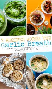 7 garlic recipes that are worth the garlic breath!