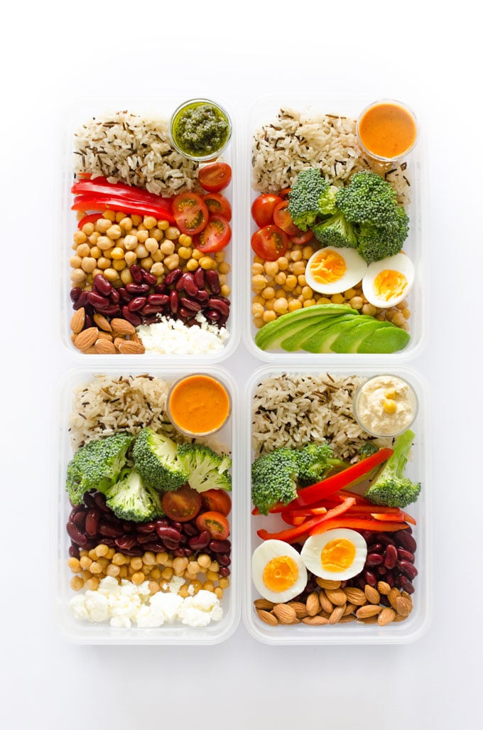 Vegetarian meal prep recipe mix match live eat learn want to get into meal prepping but overwhelmed by how to make your meals forumfinder Choice Image