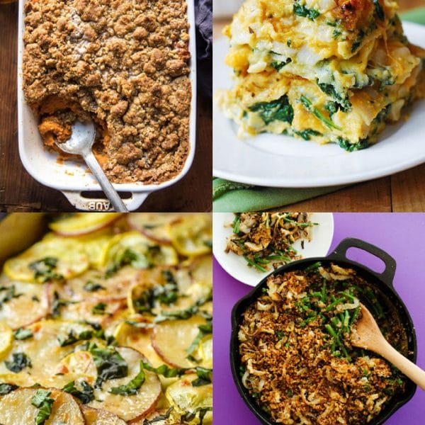 The superheroes of busy weeknights, the staples of holiday feasts, the one pan wonders...here are 8 vegetarian Thanksgiving casserole recipes!