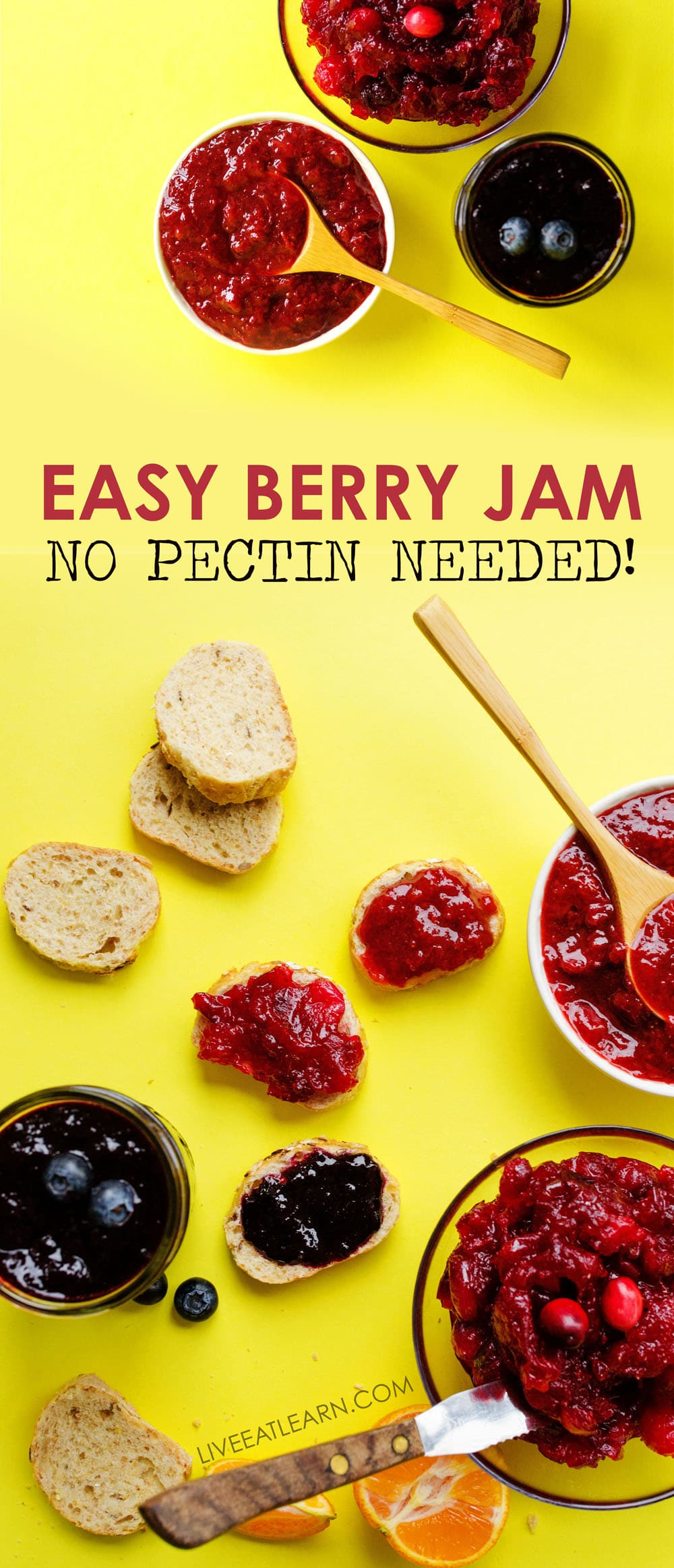 No pectin jam live eat learn - Jam without boiling easy made flavorful ...