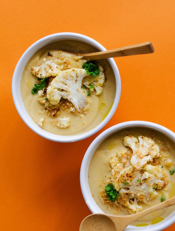 14. Creamy Cauliflower Soup