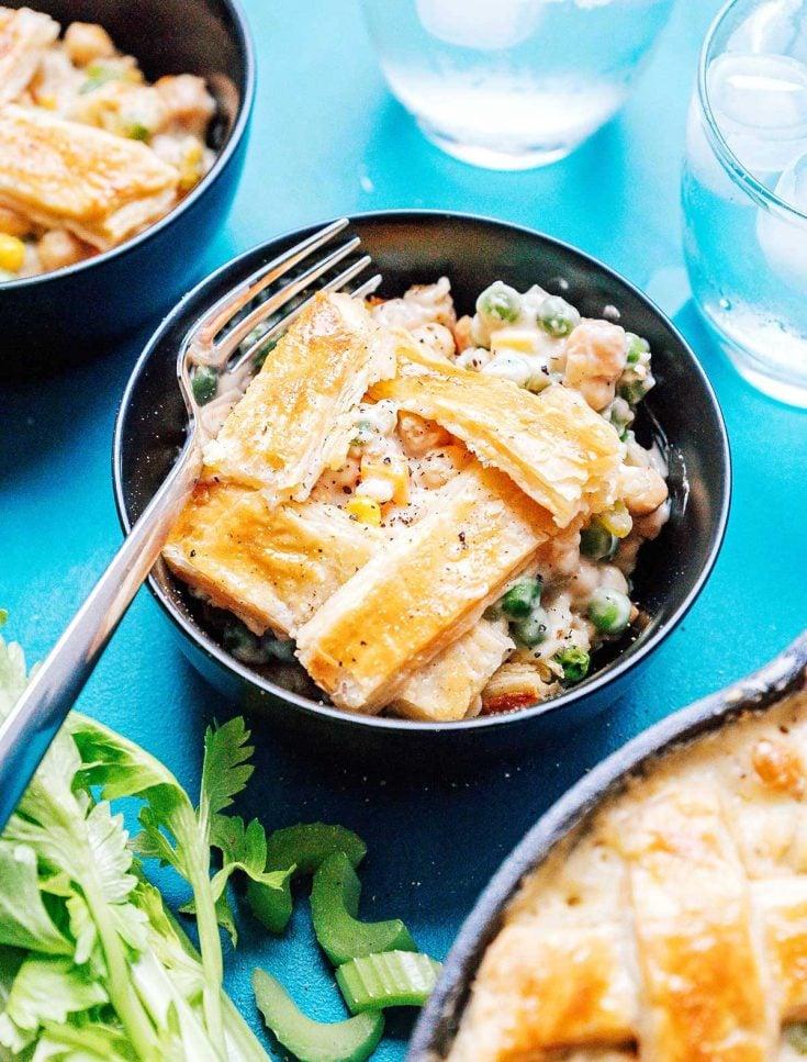 Easy Chickpea Pot Pie