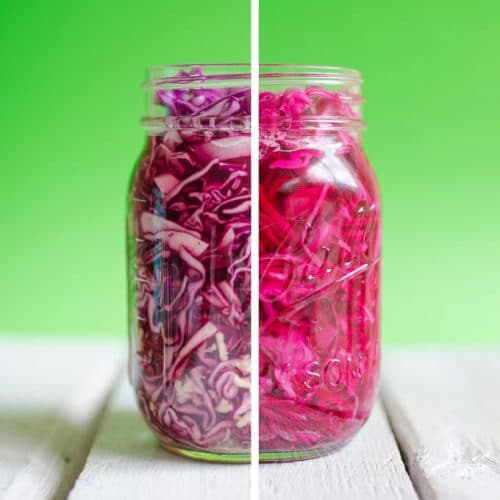 How To Make Easy Pickled Red Cabbage Live Eat Learn