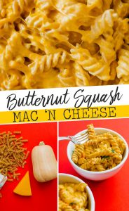 When the mac and cheese cravings hit, this lightened up Butternut Squash Mac and Cheese recipe will do the trick! Ready on the stove in under 30 minutes.