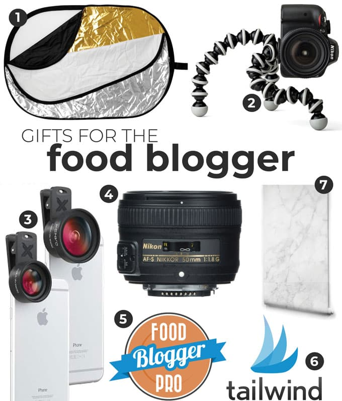 Gift ideas for food bloggers