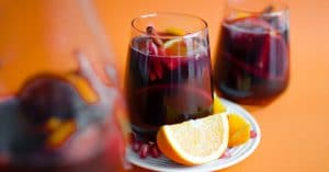 This Pomegranate Holiday Sangria is bursting with seasonal fruits and spices (and is so easy to make!)