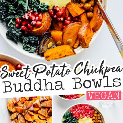 For a vibrant yet easy vegan dinner, these Roasted Vegetable Buddha Bowls do the trick, packed with colorfully delicious flavors and drizzled with creamy, protein-packed Yum Sauce!