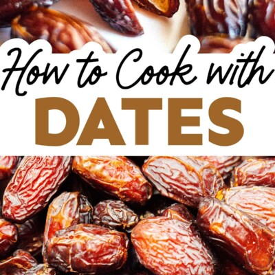 Close up photo of dates