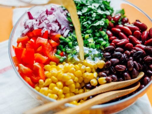 Famous Mexican Bean Salad Recipe Ready In 15 Minutes
