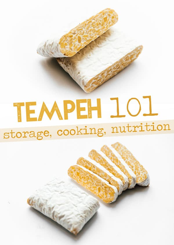Let's talk about what you need to know when cooking with tempeh (including what it is, the difference between tofu and tempeh, and how to cook it)! #vegan #veganrecipes #vegetarian #tempeh