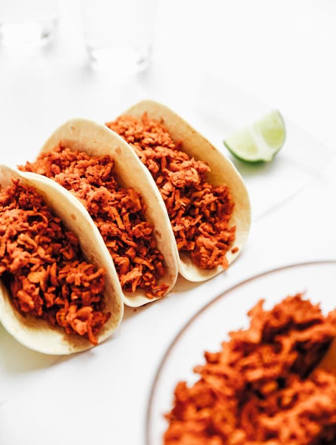 5. Vegan Tempeh Taco Meat