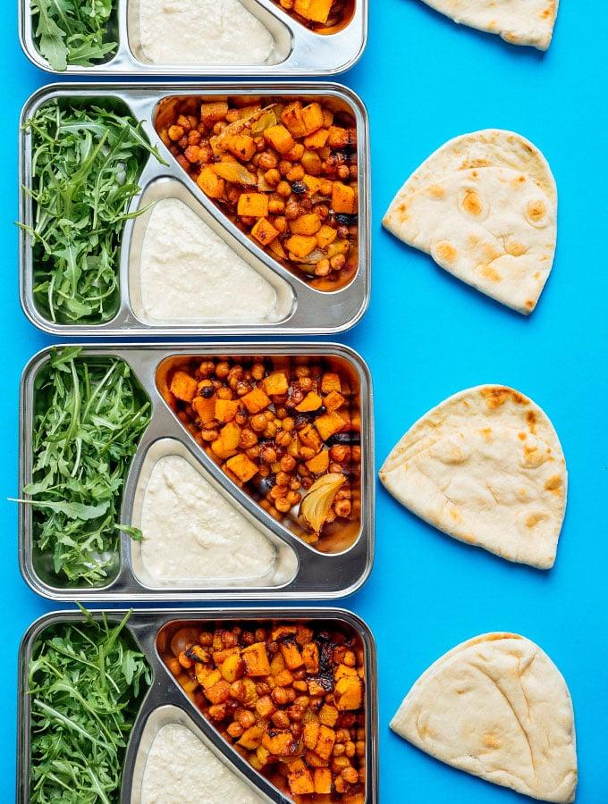 17. Butternut Bowl Meal Prep
