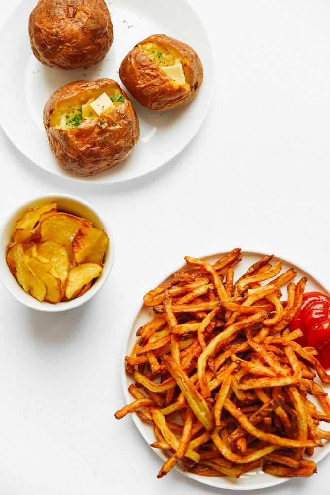 5. How to Cook Air Fryer Potatoes