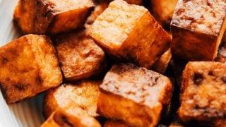 Crispy Air Fried Tofu