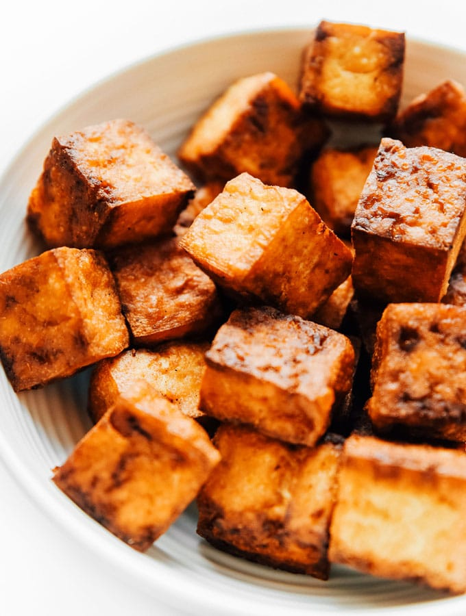 Crispy Air Fried Tofu
