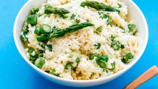 Low Carb Cauliflower Risotto