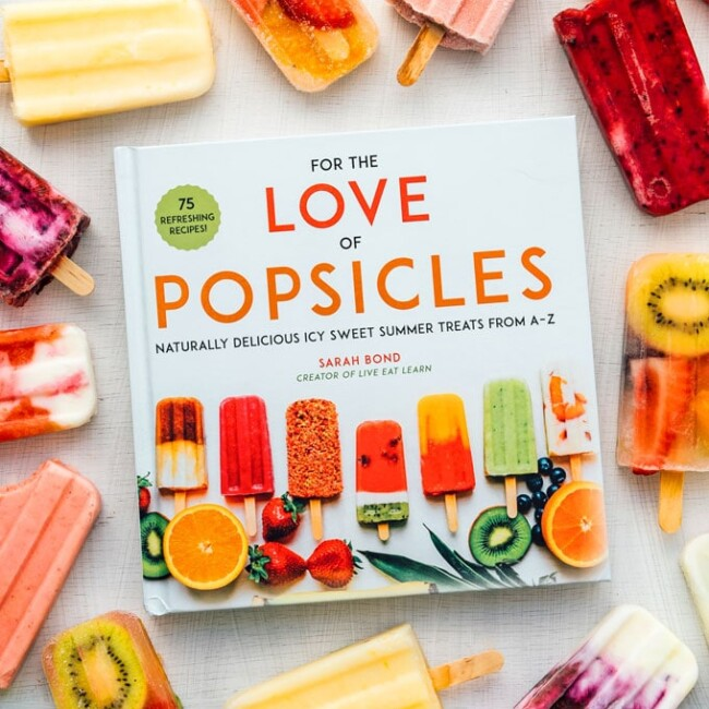 For the Love of Popsicles cookbook
