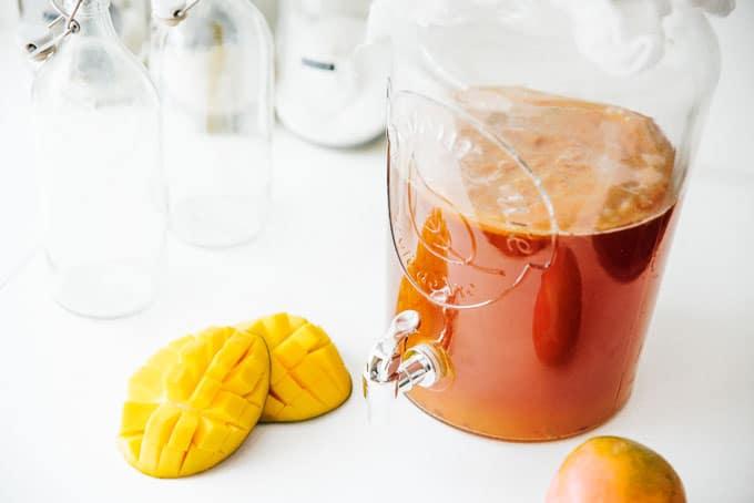 Mango for making homemade kombucha