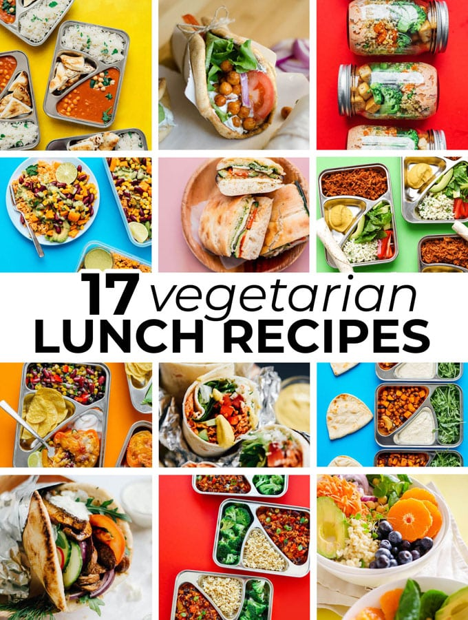 17 Vegetarian Lunch Ideas That Aren T Boring Live Eat Learn