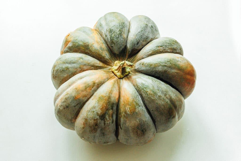 A fairytale pumpkin on a white background