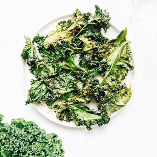 kale chips recipes air fryer Air Fryer Kale Chips