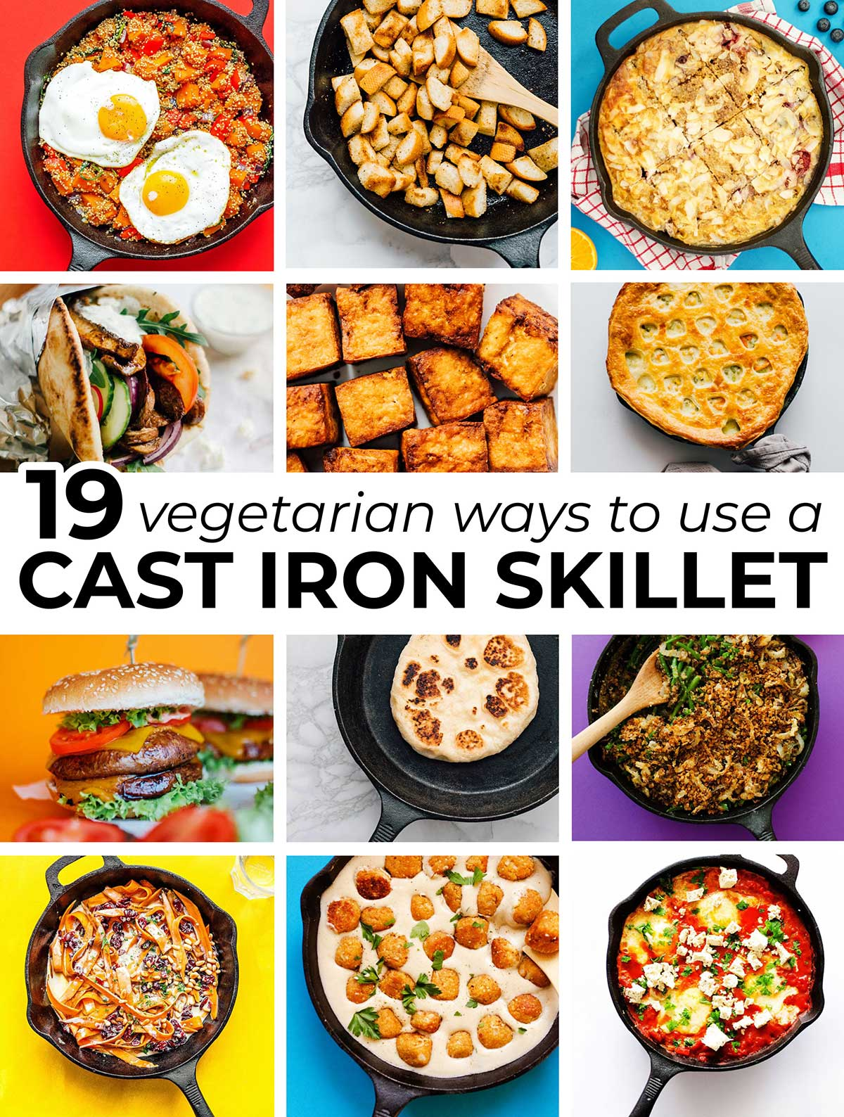 19 Vegetarian Cast Iron Skillet Recipes Live Eat Learn