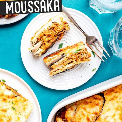 Healthy Vegetarian Moussaka Recipe Live Eat Learn