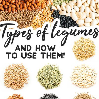 Types of legumes and how to use them